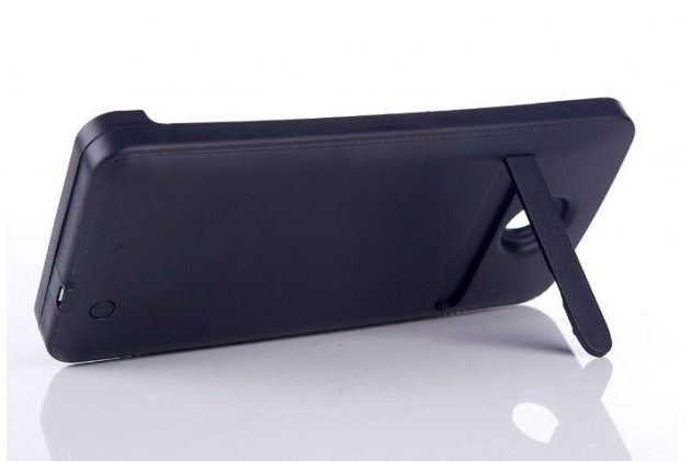 Чехол-бампер со встроенным усиленным аккумулятором большой повышенной расширенной ёмкости 4200mah для motorola nexus 6 черный + гарантия