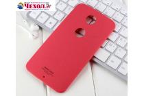 Задняя панель-крышка-накладка из тончайшего и прочного пластика для motorola nexus 6 красная