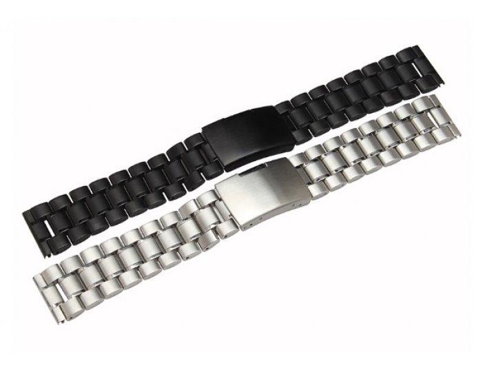 Сменный металлический ремешок для умных смарт-часов motorola moto 360 2 46mm из нержавеющей стали с магнитным ..