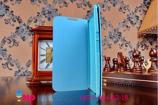 Чехол-книжка из качественной импортной кожи для motorola nexus 6 бирюзовый