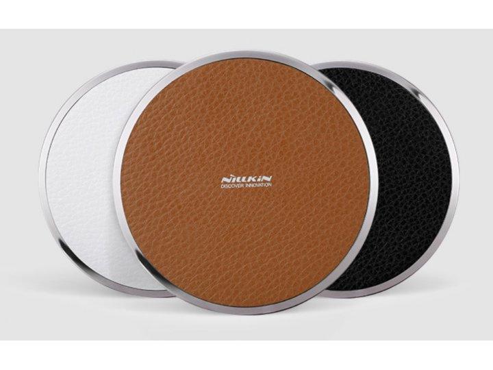 Беспроводная зарядка (qi) на телефон sony xperia e dual c1605 с отделкой под кожу и led-подсветкой. продаётся ..