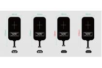 Беспроводная зарядка (qi) на телефон fly iq4409 era life 4 quad с отделкой под кожу и led-подсветкой. продаётся комплектом (док -станция + ресивер)