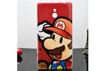 """Необычная уникальная пластиковая задняя панель-чехол-накладка для nokia lumia 1320 """"тематика супер марио"""""""