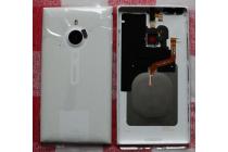 Родная оригинальная задняя крышка с функцией беспроводной зарядки и логотипом для nokia lumia 1520 белая