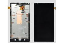 Lcd-жк-сенсорный дисплей-экран-стекло с тачскрином на телефон nokia lumia 1520 черный и инструменты для вскрытия + гарантия