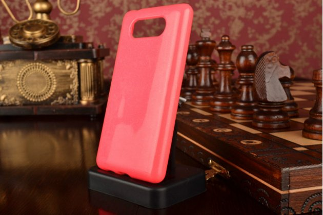 Противоударный усиленный ударопрочный чехол-бампер-пенал для nokia lumia 820 розовый