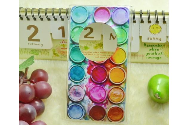 """Необычная из легчайшего и тончайшего пластика задняя панель-чехол-накладка для nokia lumia 1020  """"тематика краски"""""""