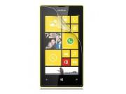 Фирменная оригинальная защитная пленка для телефона Nokia Lumia 920 глянцевая..