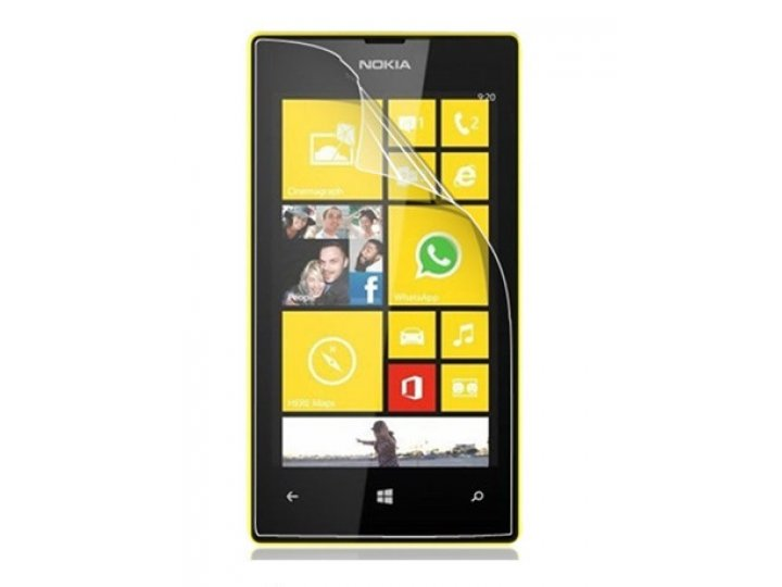 Защитная пленка для телефона nokia lumia 920 глянцевая..
