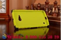 Противоударный усиленный ударопрочный чехол-бампер-пенал для nokia lumia 735 зеленый