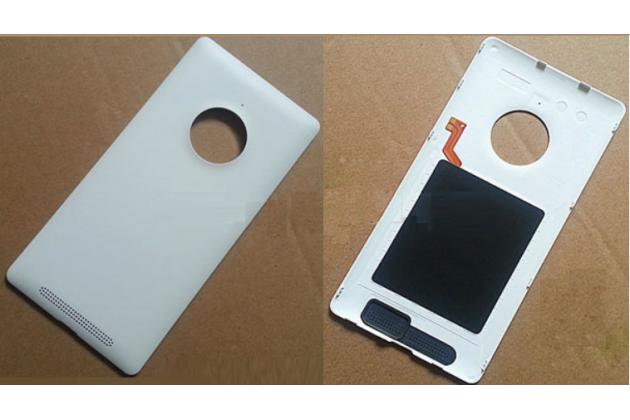 Родная задняя крышка с функцией беспроводной зарядки и логотипом для nokia lumia 830 белая