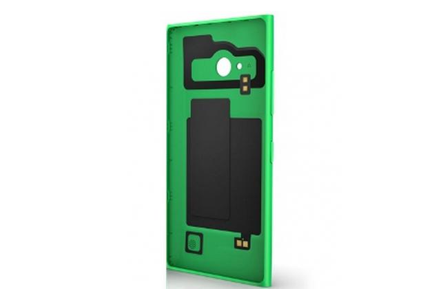 Родная задняя крышка с функцией беспроводной зарядки и логотипом для nokia lumia 830 зеленая
