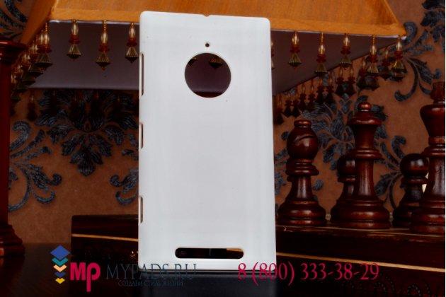 Задняя панель-крышка из тончайшего и прочного пластика для nokia lumia 830 белая