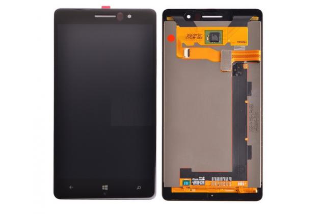 Lcd-жк-сенсорный дисплей-экран-стекло с тачскрином на телефон nokia lumia 830 черный + гарантия