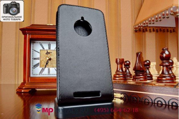 Вертикальный откидной чехол-флип для нокия люмия 830 (a00021604) черный кожаный