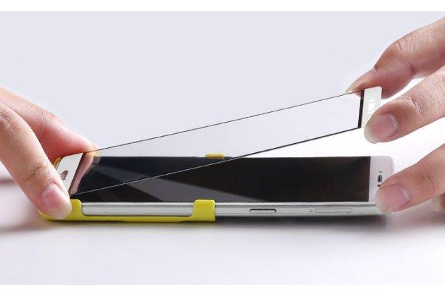 3d защитное изогнутое стекло которое полностью закрывает экран / дисплей по краям с олеофобным покрытием для nokia 8