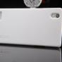 """Задняя панель-крышка-накладка из тончайшего и прочного пластика для oppo mirror 5"""" белая"""