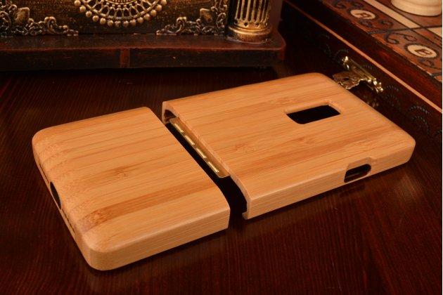 Деревянная бамбуковая задняя панель-крышка-накладка для oneplus 2 (two) a2001