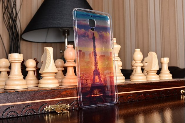 Необычная из силикона задняя панель-чехол-накладка для oneplus 3t тематика франция