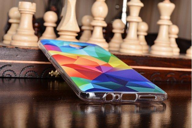 Необычная из силикона задняя панель-чехол-накладка для oneplus 3t тематика цветная геометрия