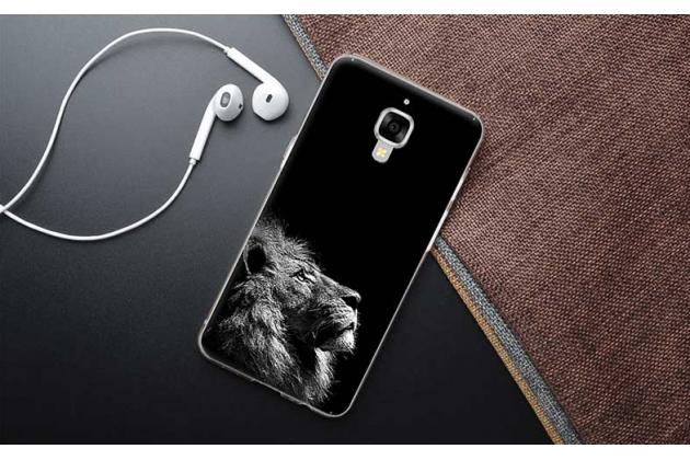 Роскошная задняя панель-чехол-накладка с безумно красивым расписным рисунком на oneplus 3 тематика лев