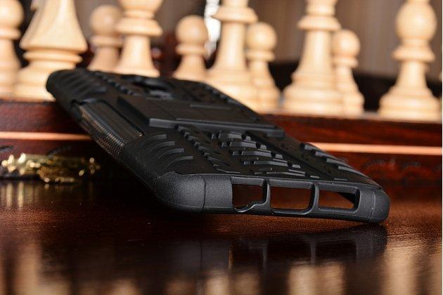 Противоударный усиленный ударопрочный чехол-бампер-пенал для oneplus 3t черный