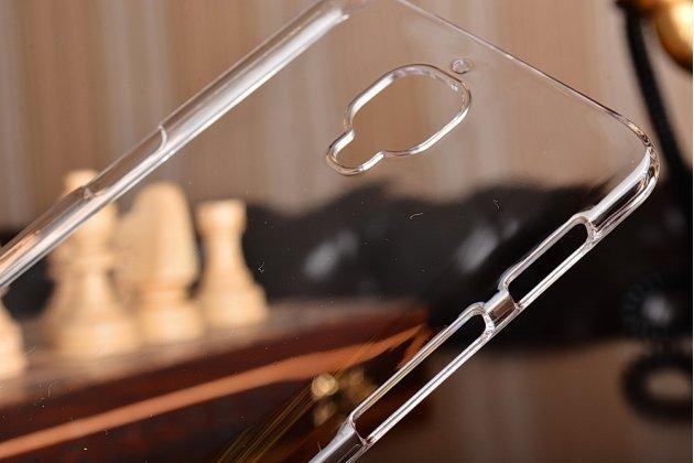 Ультра-тонкая пластиковая задняя панель-чехол-накладка для oneplus 3t прозрачная