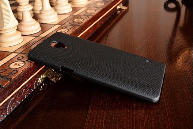 Задняя панель-крышка-накладка из тончайшего и прочного пластика для oneplus 3t черная