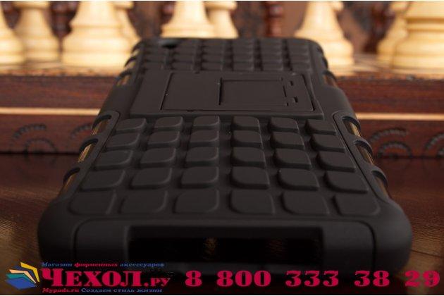 """Противоударный усиленный ударопрочный чехол-бампер-пенал для oneplus x / one + x/ e1001 5.0""""  черный"""