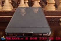 """Металлическая задняя панель-крышка-накладка из тончайшего облегченного авиационного алюминия для oneplus x / one + x/ e1001 5.0"""" серебристая"""