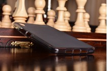 """Ультра-тонкая полимерная из мягкого качественного силикона задняя панель-чехол-накладка для oneplus x / one + x/ e1001 5.0"""" черная"""