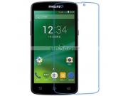 Фирменная оригинальная защитная пленка для телефона Philips Xenium V387 глянцевая..