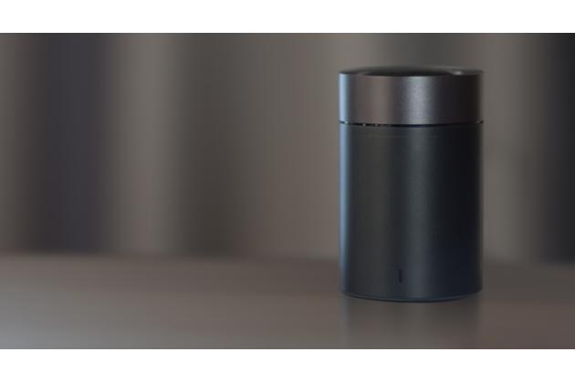 Портативная акустическая система/ колонка xiaomi cannon 2 / xiaomi mi round 2 алюминиевая с led-подсветкой