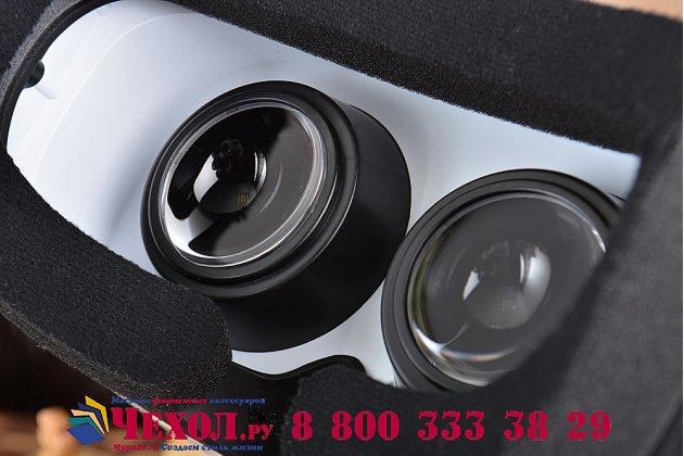"""Шлем виртуальной реальности/ 3d- очки/ vr- шлем reboto virglass white mirage для телефонов 4.5""""-6.0"""" дюймов"""