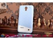 Фирменная необычная уникальная полимерная мягкая задняя панель-чехол-накладка для Samsung Galaxy Mega 2 / Mega..