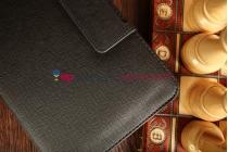 Фирменный оригинальный чехол со съёмной Bluetooth-клавиатурой для Samsung Galaxy Tab Pro 8.4 SM-T320/T325 черный кожаный + гарантия