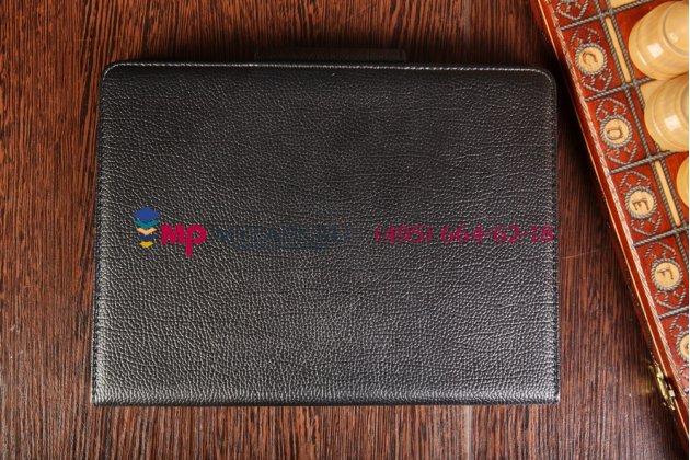 Чехол со съёмной bluetooth-клавиатурой для samsung galaxy tab s 10.5 sm-t800/t801/t805 черный кожаный + гарантия
