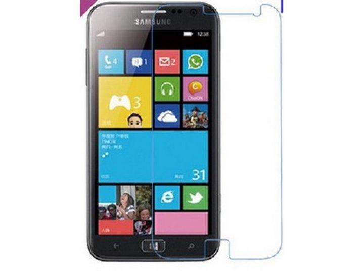 Защитная пленка для телефона samsung ativ s gt-i8750 глянцевая..