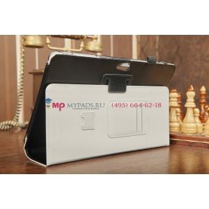 """Фирменный оригинальный чехол для Samsung ATIV Smart PC XE500T1C черный натуральная кожа """"Prestige"""" Италия"""