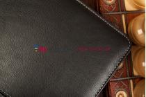 Фирменный оригинальный чехол со съёмной Bluetooth-клавиатурой для Samsung Ativ Tab 3 XE300TZC черный кожаный + гарантия