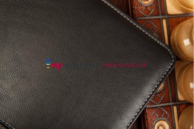 Чехол со съёмной bluetooth-клавиатурой для samsung ativ tab 3 xe300tzc черный кожаный + гарантия