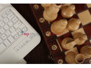 Фирменный чехол со съёмной Bluetooth-клавиатурой для Samsung Galaxy Note 8.0 N5100/N5110/N5120 белый кожаный +..
