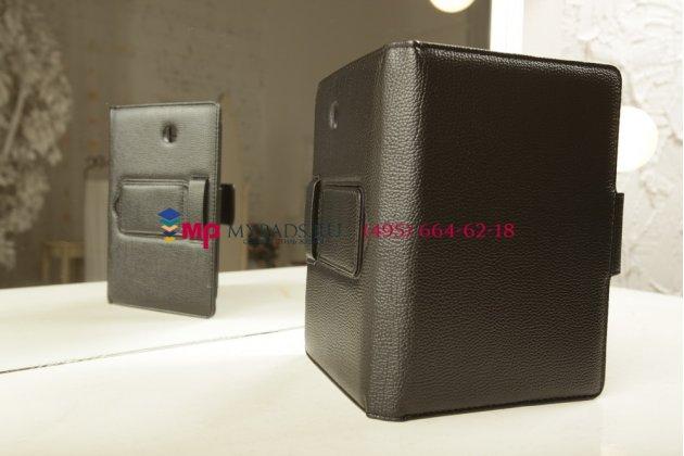 Чехол со съёмной bluetooth-клавиатурой для samsung galaxy tab 3 7.0 sm-t210/t211 черный кожаный + гарантия