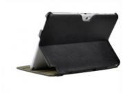 Чехол-футляр для Samsung Galaxy Note 10.1 N8000 черный кожаный