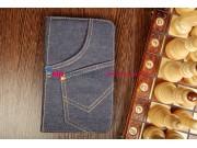 Чехол для Samsung Galaxy Tab 3 8.0 SM-T310/T311/T315 джинсовый синий..