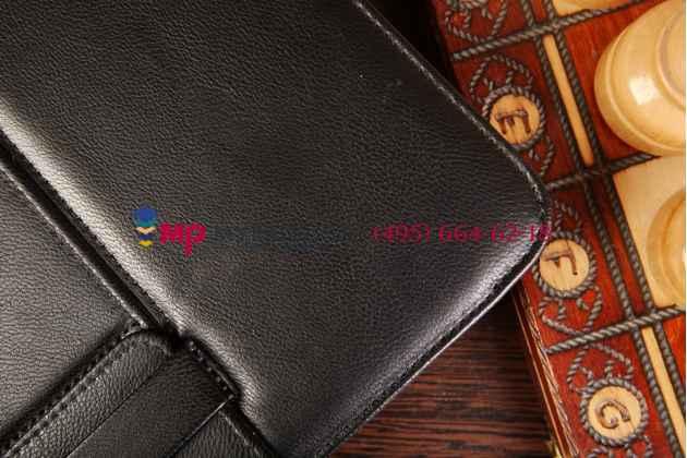Чехол со съёмной bluetooth-клавиатурой для samsung galaxy tab 4 10.1 sm-t530/t531/t535 черный кожаный + гарантия