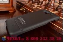 Чехол-бампер со встроенным усиленным аккумулятором большой повышенной расширенной ёмкости 3200mAh для Samsung Galaxy A5 SM-A500F/H черный + гарантия
