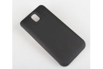 Чехол-бампер со встроенной усиленной мощной батарей-аккумулятором большой повышенной расширенной ёмкости 3800mAh для Samsung Galaxy Note 3 SM-N900/N9005 черный + гарантия