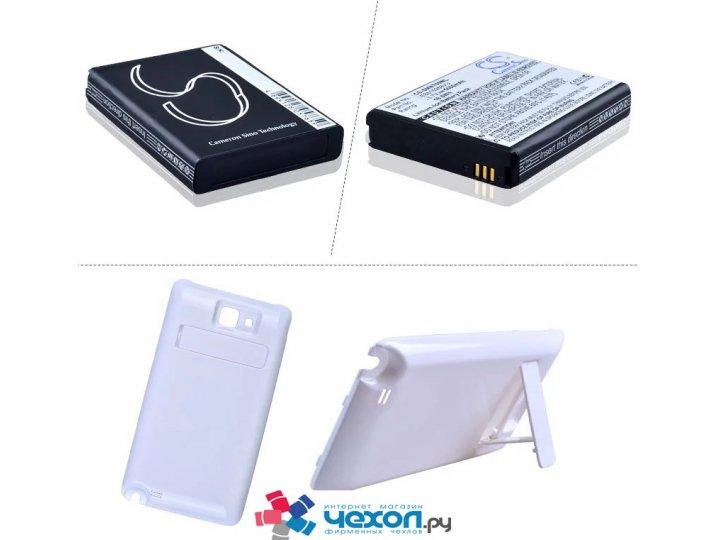 Усиленная батарея-аккумулятор большой повышенной ёмкости 5200mah для телефона samsung galaxy note 1 n7000/ lte..