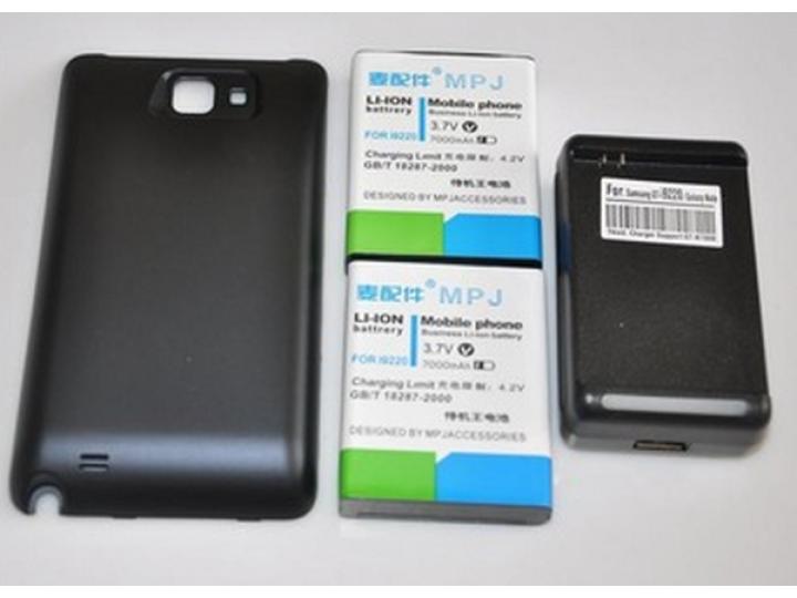 Усиленная батарея-аккумулятор большой повышенной ёмкости 7200mah для телефона samsung galaxy note 1 n7000/lte ..